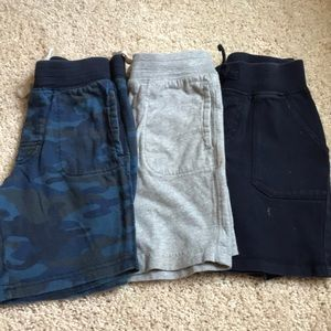 Cotton shorts, set of 3